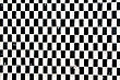 Black And White Chequerwise Tiles Pattern stock image