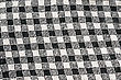 Woven Black And White Knitwear As A Background. stock image
