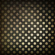 Black Polka Dot Grunge Background stock image