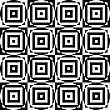 Black And White Alternating Circles Cut Through Squares.Seamless Stylish Geometric Background. Modern Abstract Pattern. Flat Monochrome Design