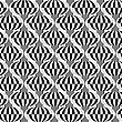 Black And White Vertical Checkered Bulbs.Seamless Stylish Geometric Background. Modern Abstract Pattern. Flat Monochrome Design stock illustration