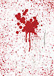 Blood Stains Texture Background, Vector