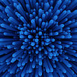 Dimensional Blue Abstract Background stock photography
