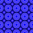 Blue David Star Seamless Background. Jewish Symbol Of Religion stock illustration