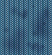 Blue Fabric Wools Texture With Dirty Spots - Vector