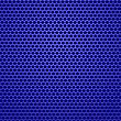 Blue Metal Perforated Texture. Abstract Green Pattern