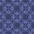 Blue Seamless Geometric Greek Ornament. Square Wave Forms In Greek Style