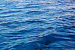 Blue Water Waves Effects. Sun Light stock image
