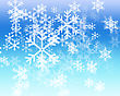 blue winter background stock illustration