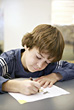 Boy Coloring stock photo