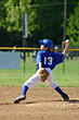 Boy Pitcher stock image