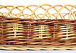Braided Basket stock photo