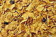 Bran And Raisin Cereal Background stock image