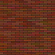 Brick Wall Background. Red Brick Texture Brick Pattern stock illustration
