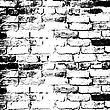 Brick Wall Of The House, With Lines Of A Laying Of A Solution. Vector Illustration