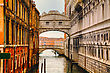 Bridge Of Sighs In Venice, Italy. Venice's Famous Bridge Of Sighs Was Designed By Antonio Contino And Was Built At The Beginning Of The 17th Century. stock image