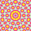 Bright Background With Abstract Pattern stock image