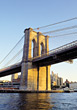 Brooklyn Bridge, New York stock photography
