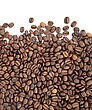 Brown Roasted Coffee Beans stock image