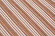 Brown And White Knitted Cloth As A Background stock photo
