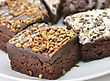 Brownies Assortment stock photography