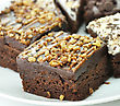 Brownies Close Up stock image