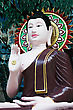 China Buddha Statue On The Beauty Background stock photo