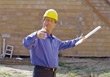 Builder or Architect stock image