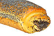 Bun With Poppy Seeds stock photo