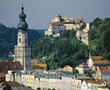 Burghausen stock image