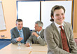 Business Men Negotiating stock photo