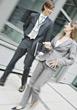 Business People Walking stock photo