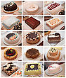 Cakes & Cookies Cakes stock photography