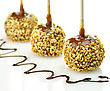 Candy Apples With Caramel Sauce