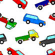 Car Seamless Wallpaper stock illustration
