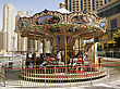 Fiesta Carrousel stock photography