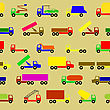 Cars, Vehicles. Car Body. Seamless Wallpaper. stock illustration