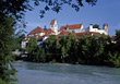 Castle Fuessen, Germany stock photography