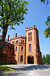 Castle In The South Of Estonia. Sangaate stock photo