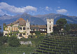 Castle Lebensburg, near Merano stock photography