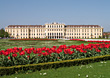 Castle Schoenbrunn in Vienna, Austria stock photography
