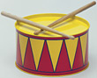 Instrument Child's Drum stock image