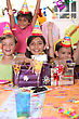 Children's Birthday Party stock photography