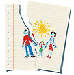 children's-drawing parents mom dad