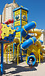 Children's Playground In The City Of Beer-Sheva, Israel stock photography