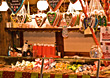 Christkindles Market Stand stock photography