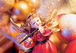 Christmas Angel Ornament stock image