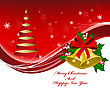 Christmas Background. EPS 10 Vector Illustration With Transparency And Meshes