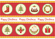 Christmas Background.Vector Vintage Card For Celebrate stock vector