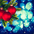 Christmas Backgrounds. Art Oil Painting Stylization For Your Design stock image